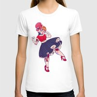 rockabilly T-shirts featuring Rockabilly Futakuchi Peggy by Gunkiss