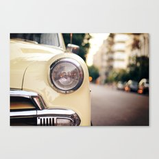 The car Canvas Print