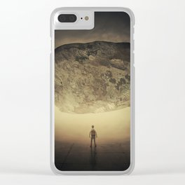 pressure of the unknown Clear iPhone Case