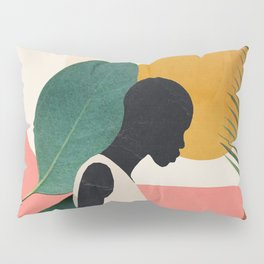 Tropical Girl Pillow Sham