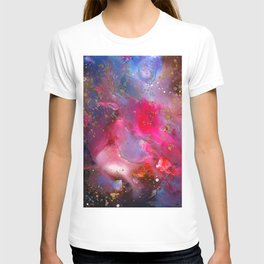 Rose Crystal Galaxy T-shirt