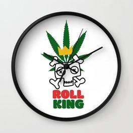 Roll King Wall Clock