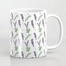 Lavender Pattern Mug