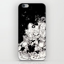 Catlady Dreams iPhone Skin