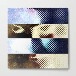 Nonspace of the mind, clusters and constellations Metal Print