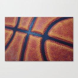 Basketball close-up Canvas Print