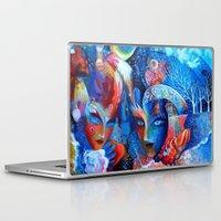 venice Laptop & iPad Skins featuring Venice by oxana zaika