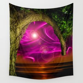 Sunset -Sunrice Wall Tapestry