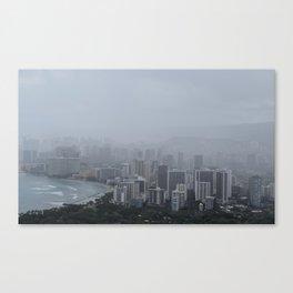 gloomy hawaii Canvas Print