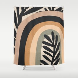 Abstract Art Rainbow 2 Shower Curtain