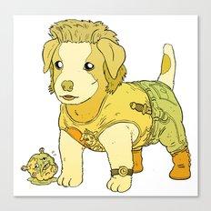 Kurt Russell Terrier - Jack Burton Canvas Print