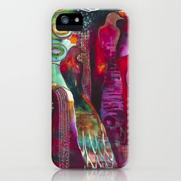 """True Nature"" Original Painting by Flora Bowley iPhone Case"