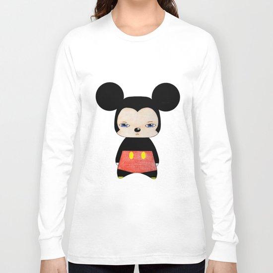 A Boy - Mickey Mouse Long Sleeve T-shirt
