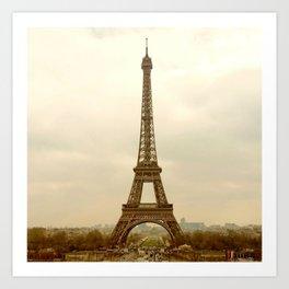 EiffelTower Photo Art Print