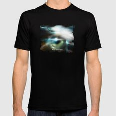 The Eye Of The Storm Mens Fitted Tee MEDIUM Black