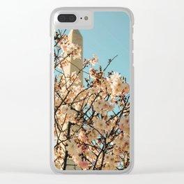 Washington Monument 11 Clear iPhone Case