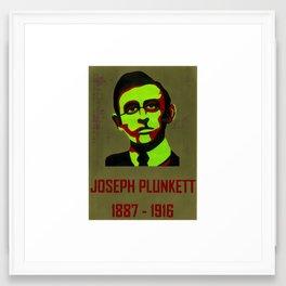 Joseph Plunkett   1887-1916 Framed Art Print