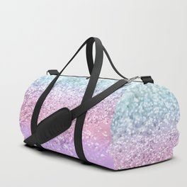 Unicorn Girls Glitter #4 #shiny #pastel #decor #art #society6 Duffle Bag