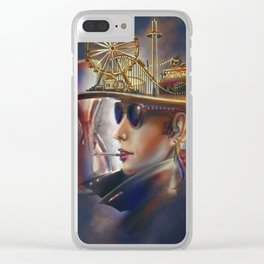 The Thrill Clear iPhone Case
