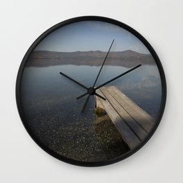 Autumn morning Wall Clock