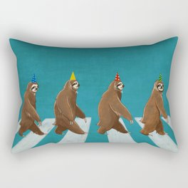 Sloth the Abbey Road Rectangular Pillow