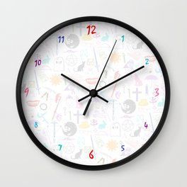 Buffy Symbology, Multi-color / Rainbow / PRIDE! Wall Clock