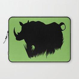 Rhino Horns Laptop Sleeve