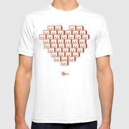 i heart robot T-shirt