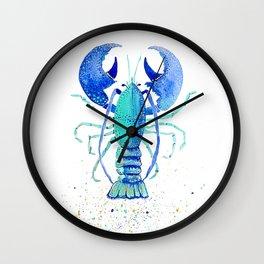 Neptune's Lobster Wall Clock