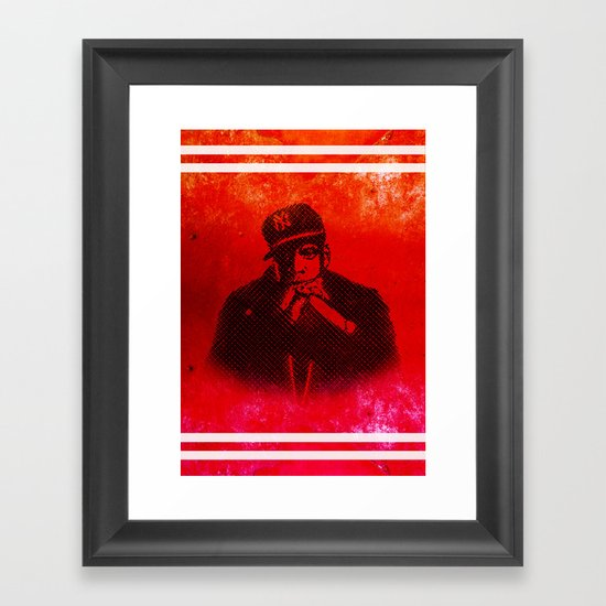Jay Framed Art Print