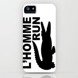 L'Homme Run iPhone Case