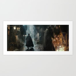 Old London Painting Art Print
