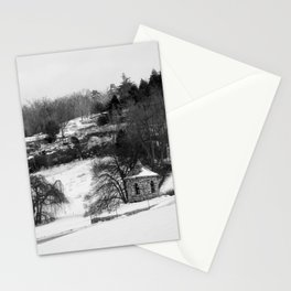 Stone House Upon the Hill  Stationery Cards