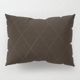 Nylon Stocking Fishnet Grid Pillow Sham
