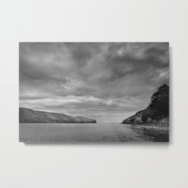 Port Levy Harbour Heads Metal Print