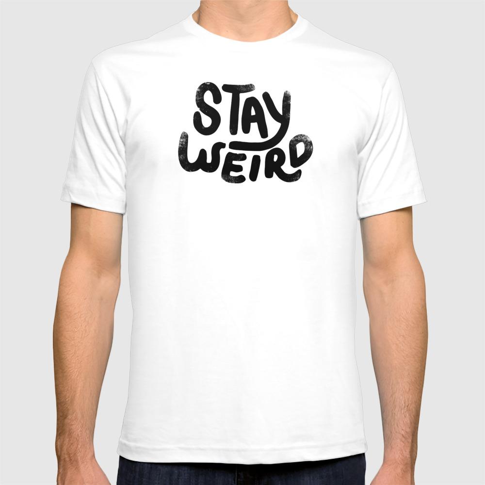 Nietzeggende tekst shirts