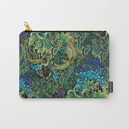 Immersive Pattern Carry-All Pouch