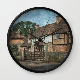 An Oxfordshire Village Wall Clock