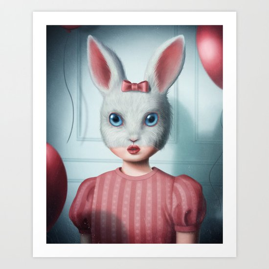 The lonely party Art Print