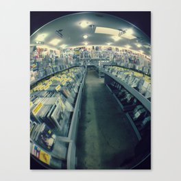 Amoeba Records, San Francisco  Canvas Print