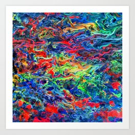 Color Fantasy Art Print