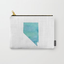 Watercolor Nevada Carry-All Pouch