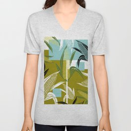Farmer Sweet Corn Unisex V-Neck