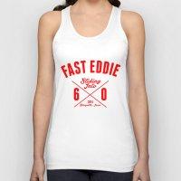 eddie vedder Tank Tops featuring FAST EDDIE 2.0 by SIX PEAKS
