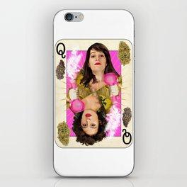 Queen of Buds iPhone Skin