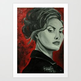 Long Live the Queen Art Print