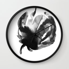 A flower Wall Clock