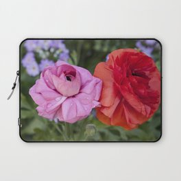 Ranunculus with water drops Laptop Sleeve
