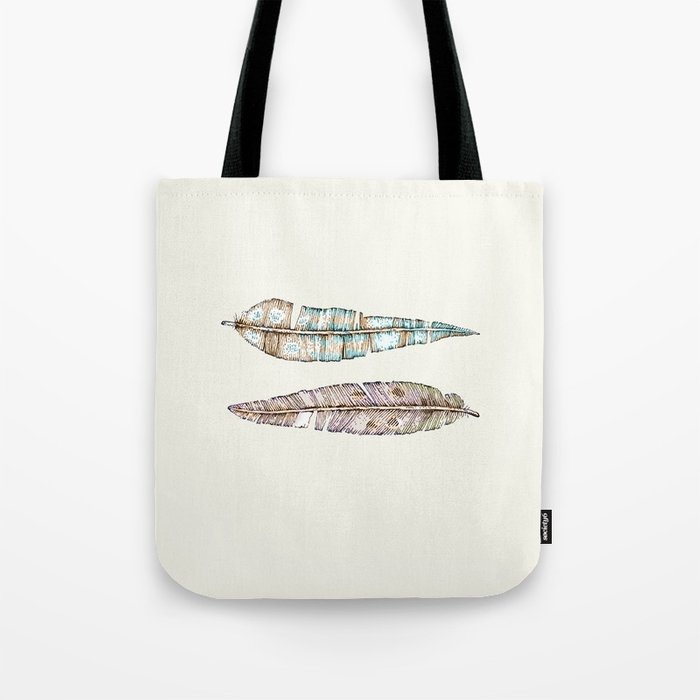 feather x2 Tote Bag