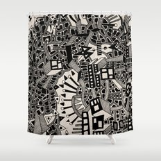 - city of april - Shower Curtain